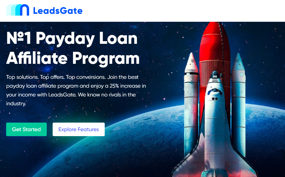 LeadsGate - Payday Loans Affiliate Network